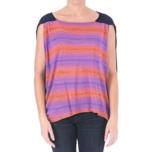 ELIZABETH AND JAMES Womens Space Pullover Top $345
